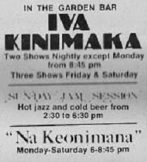 Hawaii Tourist News – Entertainment Section – July 4, 1974