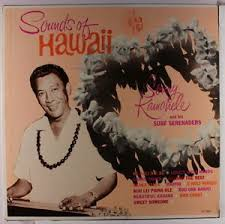 "Sonny Kamahele's ""Sounds of Hawaii"" LP (Album Cover)"